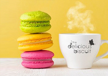 Treat yourself in The Delicious Biscuit Cafe