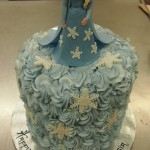 double-height-tier-round-birthday-cake-frozen-elsa