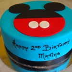 single-tier-round-birthday-cake-mickey-mouse-blue