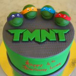 single-tier-round-birthday-cake-teenage-mutant-ninja-turtles-heads