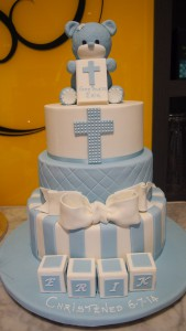 three-tier-round-boy-christening-cake-blue-cross-bear