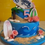 two-tier-round-birthday-cake-ocean-surf-board