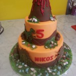 two-tier-round-birthday-cake-volcano-rocks