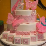 two-tier-round-girl-christening-cake-butterfly