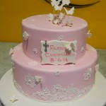 two-tier-round-girl-christening-cake-butterfly-pink-stencil
