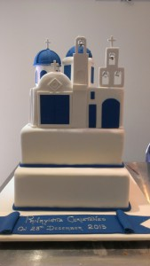 two-tier-square-boy-christening-cake-greek-church